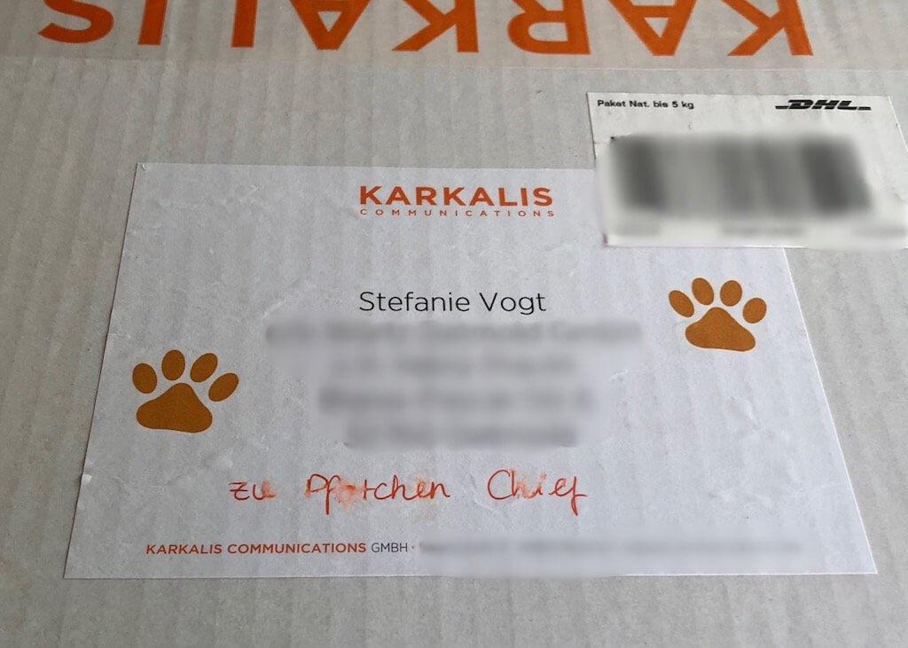 Paket der Hundekamera Furbo von Karkalis